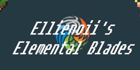 Elemental Blades [1.14.4] [1.12.2] (магические мечи)