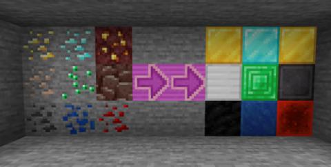 Блоки вместо руды [1.16.5]