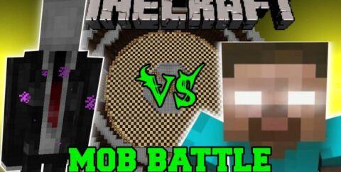 Mob Battle [1.16.5] [1.14.4] [1.12.2] [1.7.10] (сражение между мобами)