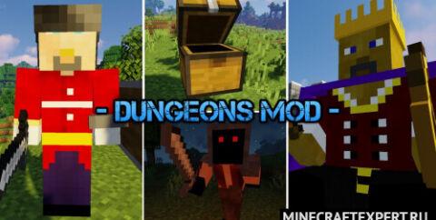 Dungeons [1.16.5] [1.12.2] — новые боссы и мобы