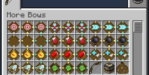 MoreBows [1.15.2] (набор модификаций для лука)