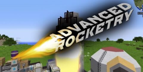 Advanced Rocketry [1.16.5] [1.12.2] [1.7.10] (космические ракеты)