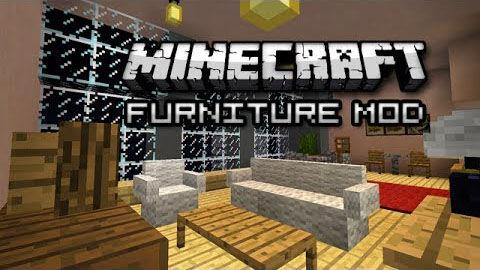 Furniture mod — мод на мебель и технику [1.16.4] [1.15.2] [1.12.2]