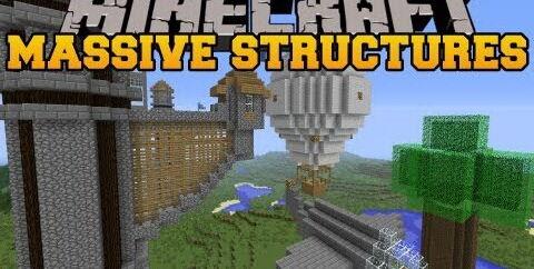 Instant Massive Structures [1.12.2] [1.11.2] [1.10.2] [1.7.10]