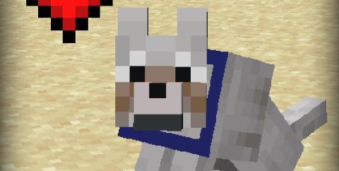 Pet Your Wolf [1.16.5] [1.14.4] (погладь питомца)