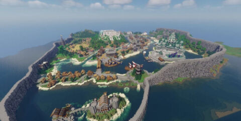 Средневековое королевство, большой город и крепость [1.16.5]