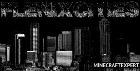 FlenixCities [1.12.2] [1.7.10] — декор для города