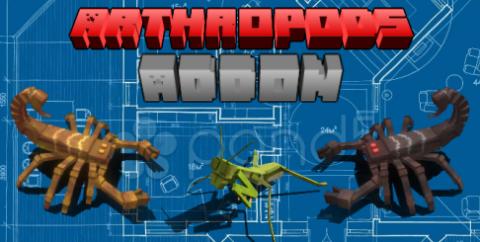 Arthropods [1.17] [1.16] — скорпионы и насекомые
