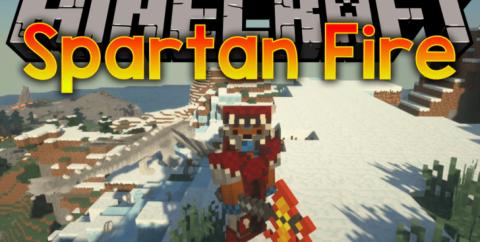 Spartan and Fire — спартанское оружие и драконы [1.12.2]