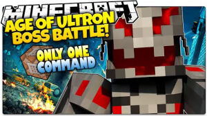 Ultron Boss Battle [1.8.9]