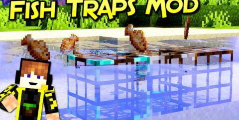 Fish Traps [1.16.5] [1.15.2] [1.14.4] (Автоматическая рыбалка)