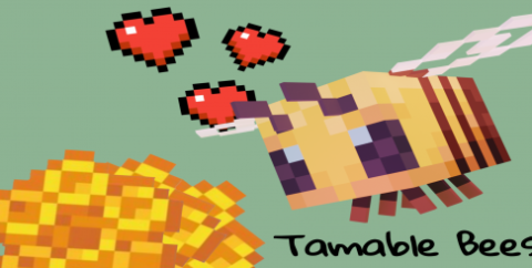 Syzeliic's Tamable Bees [1.17] — приручение пчел