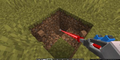 Mining Gadgets [1.16.5] [1.15.2] [1.14.4] (лазерный бур)