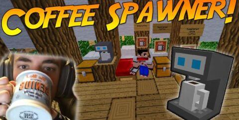 Coffee Spawner [1.17.1] [1.16.5] [1.15.2] [1.12.2] (кофемашина)