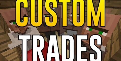 Custom Trades [1.17.1] [1.16.5] [1.12.2] [1.11.2] — настройка торговли у жителей