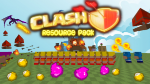 The Clash Pack [1.10.2] [1.9.4] [1.8.9] [1.7.10] (32x)