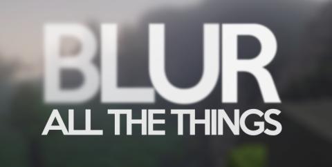 Blur [1.16.5] [1.15.2] [1.12.2] (размытие заднего фона)