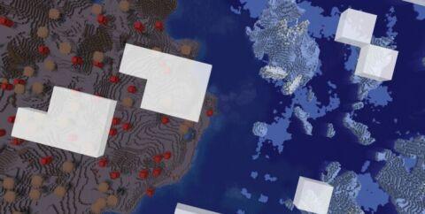 Сид — Грибной остров окруженный айсбергами [1.13.2]