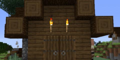 Double Doors [1.16.4] [1.15.2] [1.14.4] [1.12.2] (двойные двери)