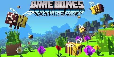 Bare Bones Текстур-пак [1.16.1] [1.15.2] [1.14.4] [1.12.2] [1.8.9] (16x)