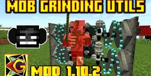 Mob Grinding Utils [1.16.5] [1.12.2] (автоматическая ферма мобов)