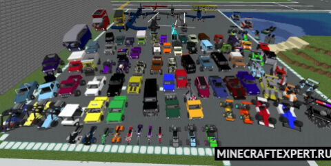 Chronokillers car and trucks [1.16.5] — набор транспорта