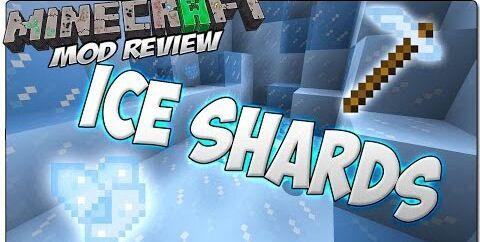 Ice Shards [1.12] [1.11.2] [1.10.2] [1.7.10] (ледяная кирка)