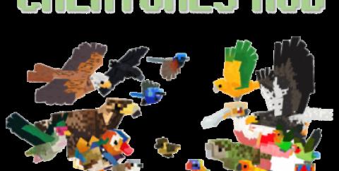 Creatures [1.12.2] — животные из реального мира