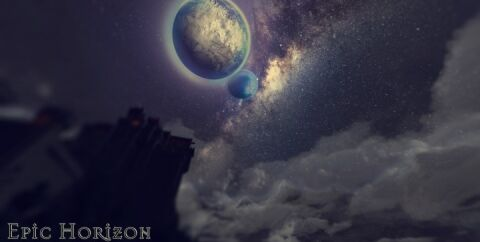 Epic Horizon — красивые текстуры неба [1.12.2] (1024x, 512x, 256x)