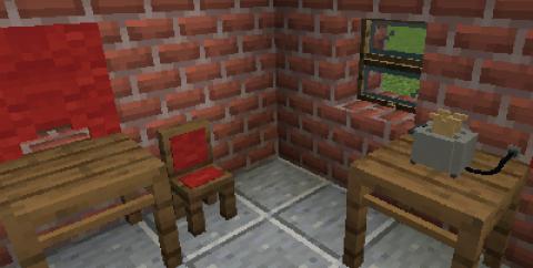 Exline's Furniture [1.16.5] — простая мебель