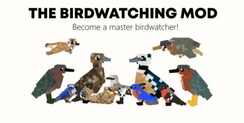 The Birdwatching [1.12.2] (реалистичные птицы)