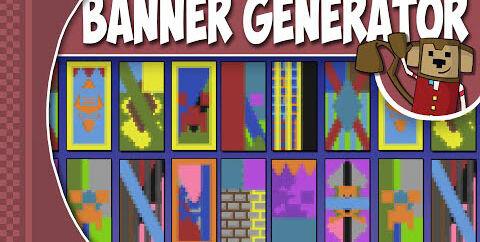Онлайн генератор Minecraft баннеров