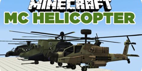 MC Helicopter — вертолеты и самолеты [1.7.10] [1.6.4] [1.5.2]