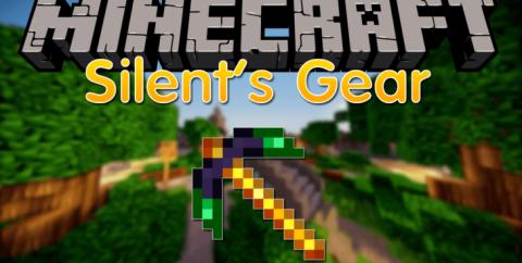 Silent Gear [1.16.4] [1.15.2] [1.12.2] (модульное оружие, инструменты и броня)