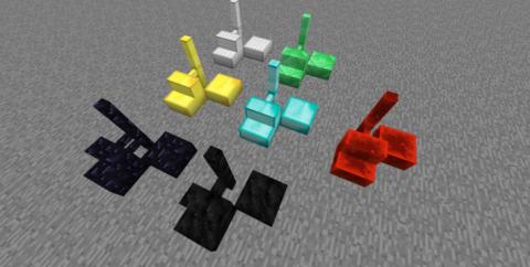 Nifty (Ornamental) [1.16.5] [1.15.2] [1.12.2] (лестницы, заборы, люки и полублоки)