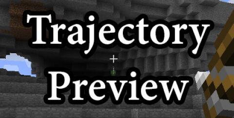 Trajectory Preview [1.17.1] [1.16.5] [1.15.2] [1.12.2] (Траектория полета предмета)