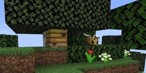 Сид на пчел и Цветочный лес [1.15.2]