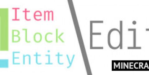 IBE Editor [1.16.3] [1.15.2] [1.14.4] [1.12.2] (редактор блоков и предметов)