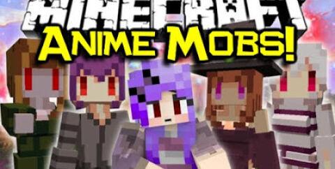 Cute Mob Models [1.12.2] [1.7.10] — мобы-девушки
