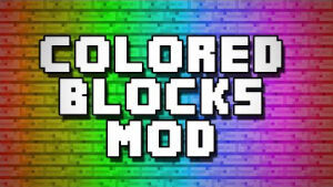 Flat Colored Blocks [1.12.2] [1.11.2] [1.10.2] [1.8.9]