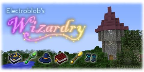 Electroblob's Wizardry [1.12.2]  (магия без заморочек)