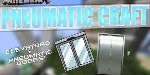 PneumaticCraft  [1.16.4] [1.15.2] [1.14.4] [1.12.2] (пневматические механизмы)
