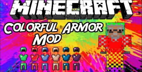 Colorful Armor [1.16.5] [1.15.2] [1.12.2] [1.7.10] (цветная броня)