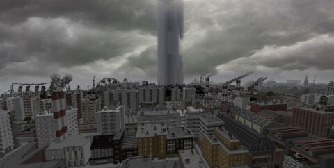 Город City-17 в Майнкрафт [1.12.2]