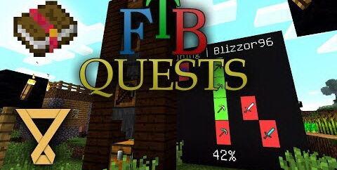 FTB Quests [1.16.5] [1.15.2] [1.12.2] — создание квестов в Майнкрафт
