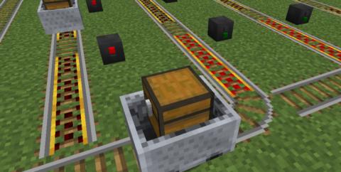 Signals — железнодорожные станции и сигналы [1.12.2] [1.10.2] [1.9.4]
