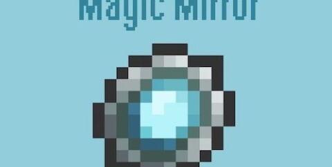 Magic Mirror [1.16.5] [1.15.2] [1.12.2] [1.7.10] (зеркало телепортации)