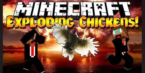 Explosive Chickens Mod [1.6.4]