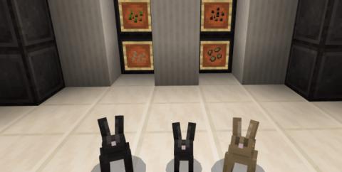 Rabbits! [1.16] (приручи кроликов)