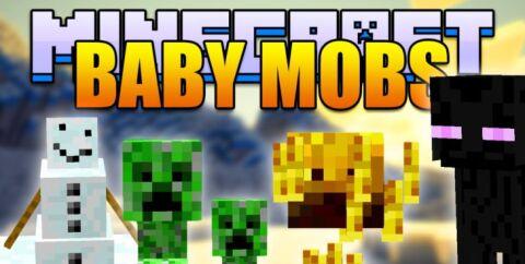 Baby Mobs — детеныши мобов [1.12.2] [1.11.2] [1.10.2] [1.7.10]